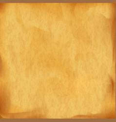 texture old vintage parchment vector image