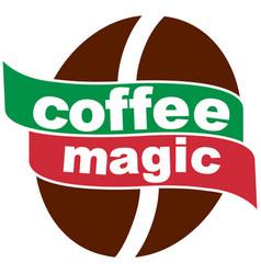 coffee magic 3 2 vector image