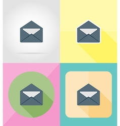 service flat icons 05 vector image