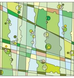 verdure background vector image vector image