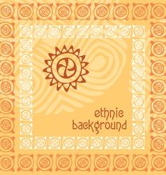 background ethnics vector image
