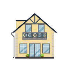 Cool detailed house vector