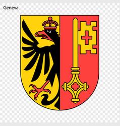 Emblem of geneva vector