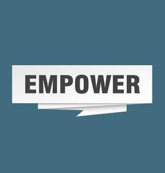 Empower vector