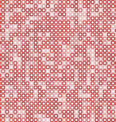 Red square pixel mosaic background vector