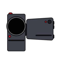 Video cameraicon image vector