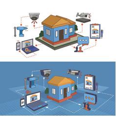 Video surveillance systems vector