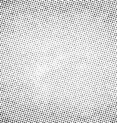 Grunge halftone print pattern background vector image