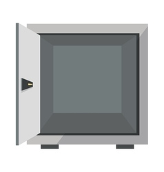 open safe box icon vector image