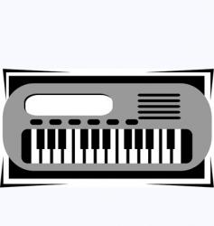 key board vector image