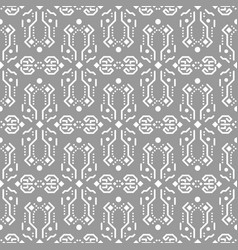 abstract tribe ornament seamless pattern vector image