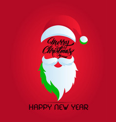 Christmas happy new year vector