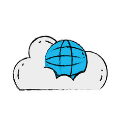 Cloud data with global connection server vector