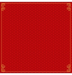 Colored chinese background vector