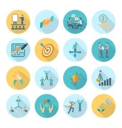 Compliance Icons Flat vector
