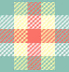 Easter tartan plaid pattern scottish cage vector