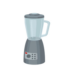 electric blender for preparation food and smoothie vector image