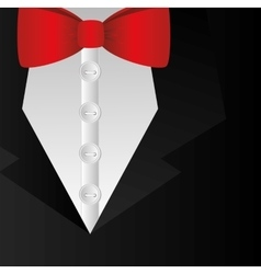 Elegant dress male background vector
