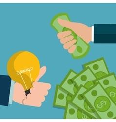 Money concept design vector