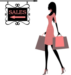 sales time vector image vector image