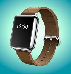 Smart Watch Concept Realistic vector image