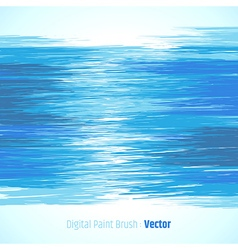 Abstract digital paint background blue vector image