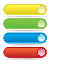 Button Bars vector image