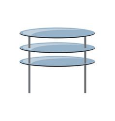 coffee table icon vector image