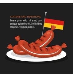 German culture design vector