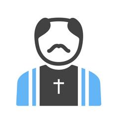 priest vector image
