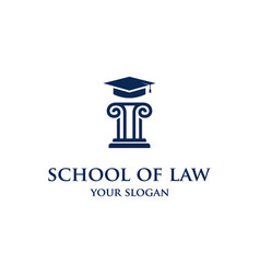 school law vector image