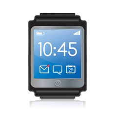 Smartwatch vector
