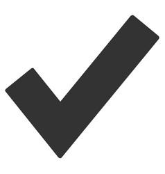 ok tick flat icon vector image vector image