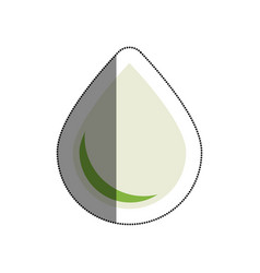 drop nature isolated icon vector image vector image