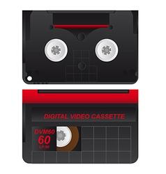Casette Tape vector image