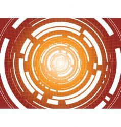 digital escape vector image