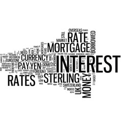 Foreign currency mortgages what are they and what vector
