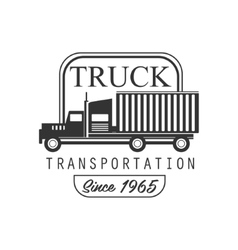 Heavy Trucks Company Club Logo Black And White vector