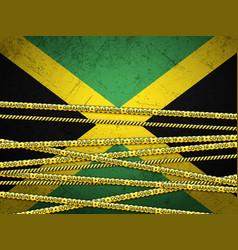 Jamaica in quarantine vector