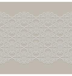 Lace ribbon Seamless Pattern vector