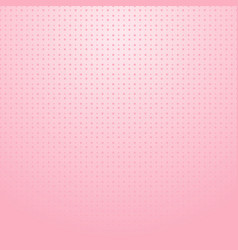 pink halftone with dots pattern on pink gradient vector image