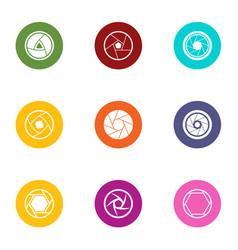 Plug icons set flat style vector