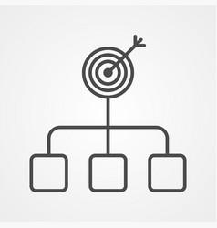 purpose icon sign symbol vector image
