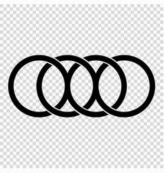 Rigs icon vector