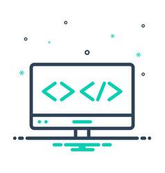 Web coding vector