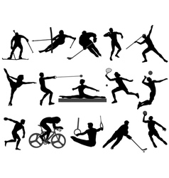 sports 2 vector image