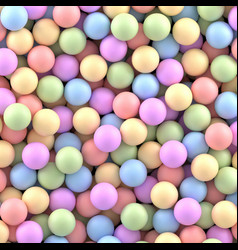 Colorful balls background vector