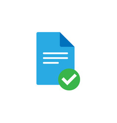document icon graphic design template vector image