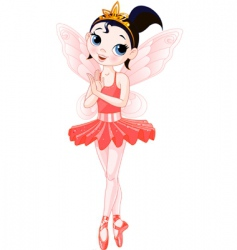 fairy ballerinas vector image