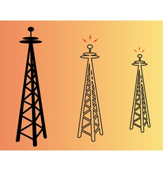 power poles vector image